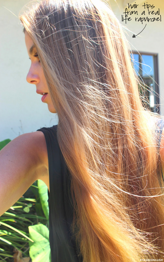 tips for long hair, the beauty professor, fashionlush