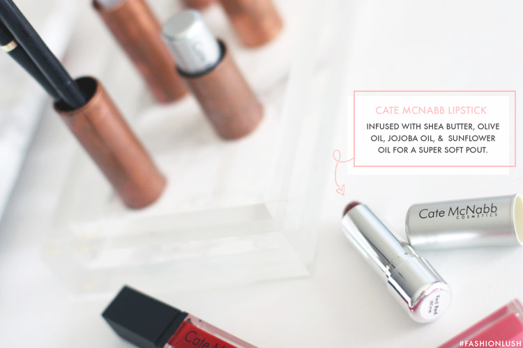 fashionlush, diy lipstick holder, cate mcnabb cosmetics