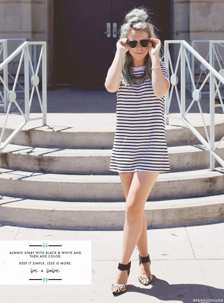 fashionlush, wesley bird, stripes & leopard