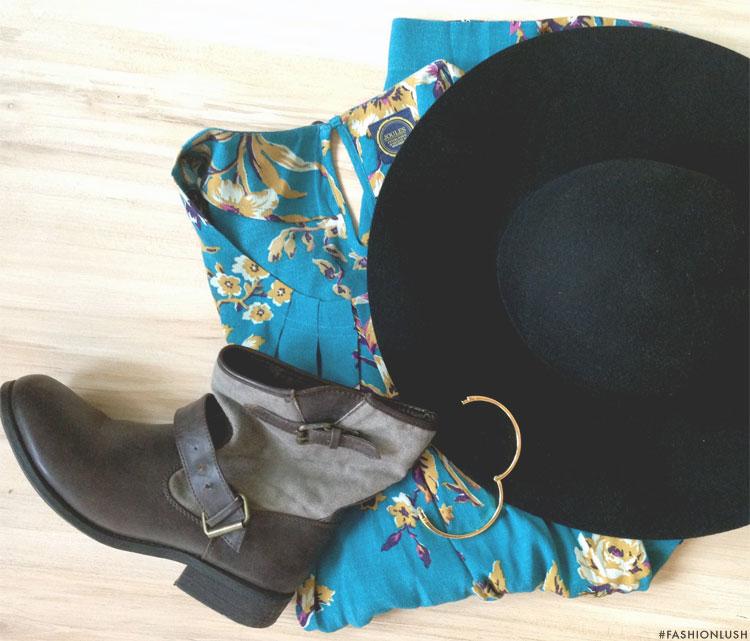 fashionlush, joule clothing, floral print fashion