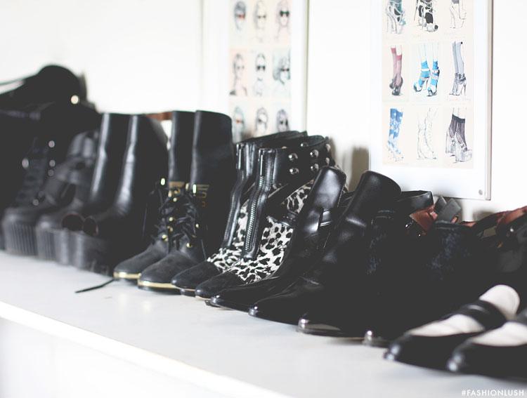 fashionlush, shoe organization, closet organization
