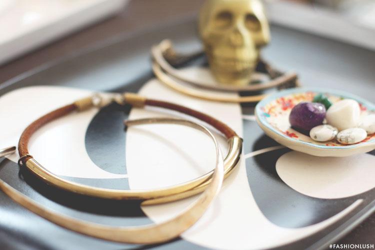 fashionlush, vintage jewelry, collar necklaces