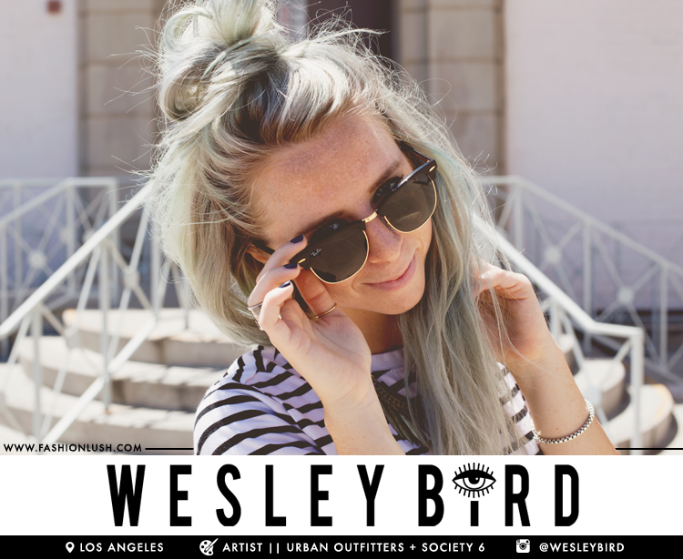 fashionlush, society 6, wesley bird