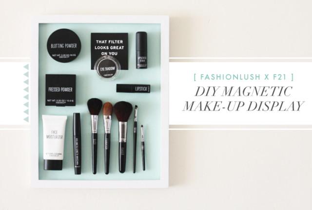Fashionlush DIY Makeup Organization