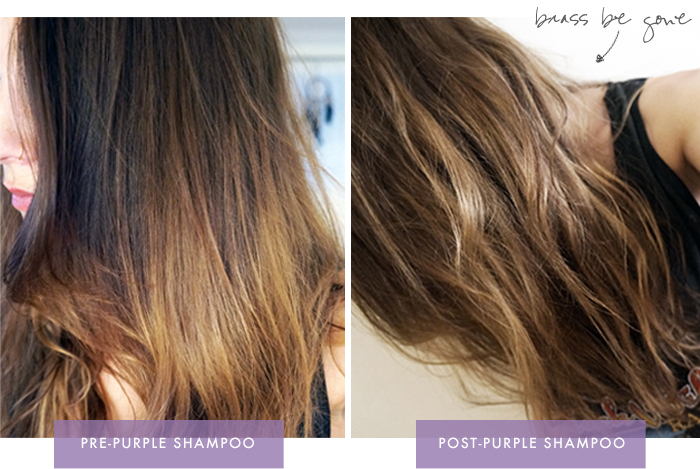 Brunettes Can Amp Def Should Use Purple Shampoo Too