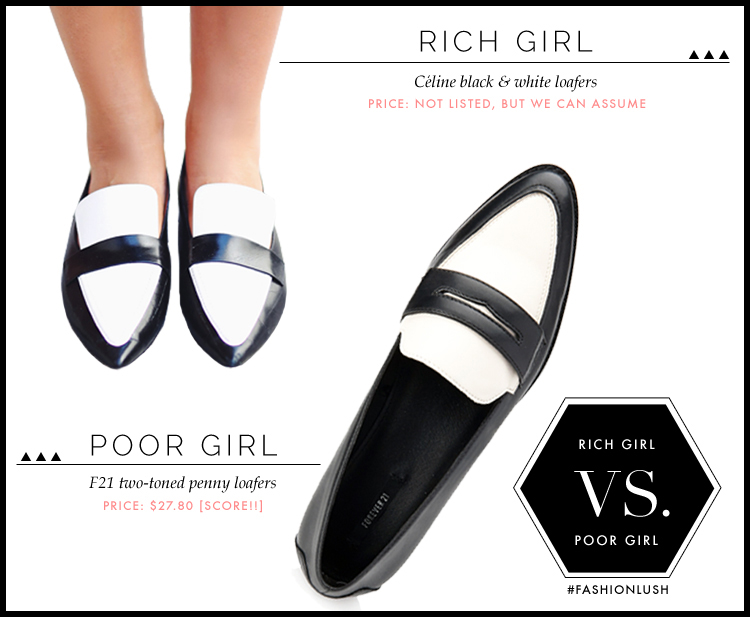celine black and white loafers, fashionlush, celine we wore what