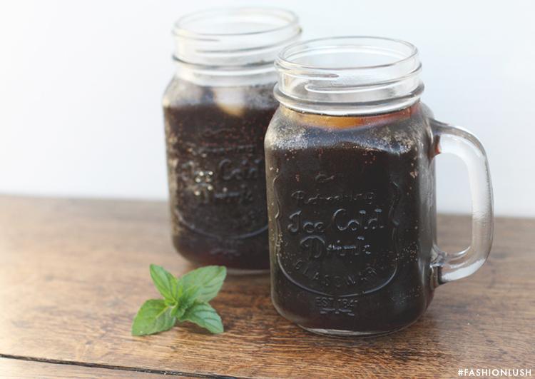 fashionlush, coffee soda, coffee float recipe