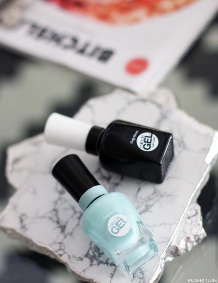 fashionlush, nail polish review, sally hansen miracle gel