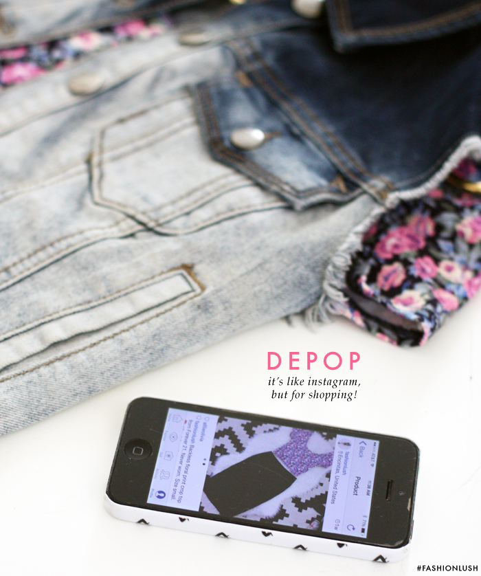 fashionlush, depop, shop vintage