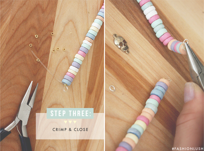 fashionlush, do it yourself, chanel candy necklace