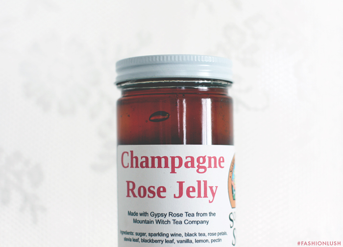 fashionlush, rose jelly, champagne jelly