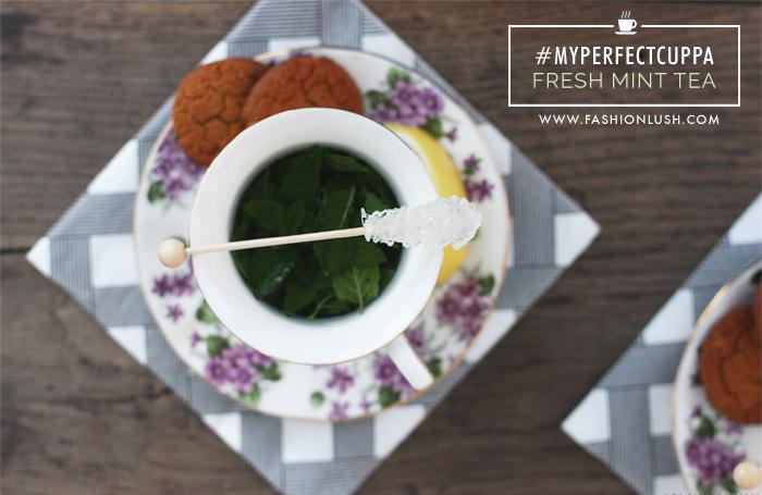 fashionlush, fresh mint tea, copenhagen