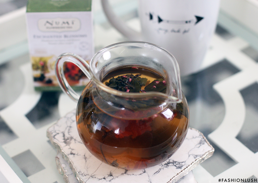 fashionlush, numi flower tee, gifts for the tea lover