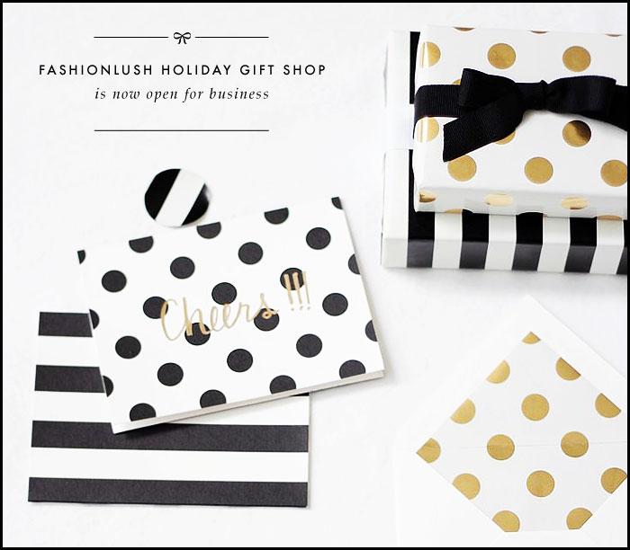 fashionlush, gift guide, holiday gift shop
