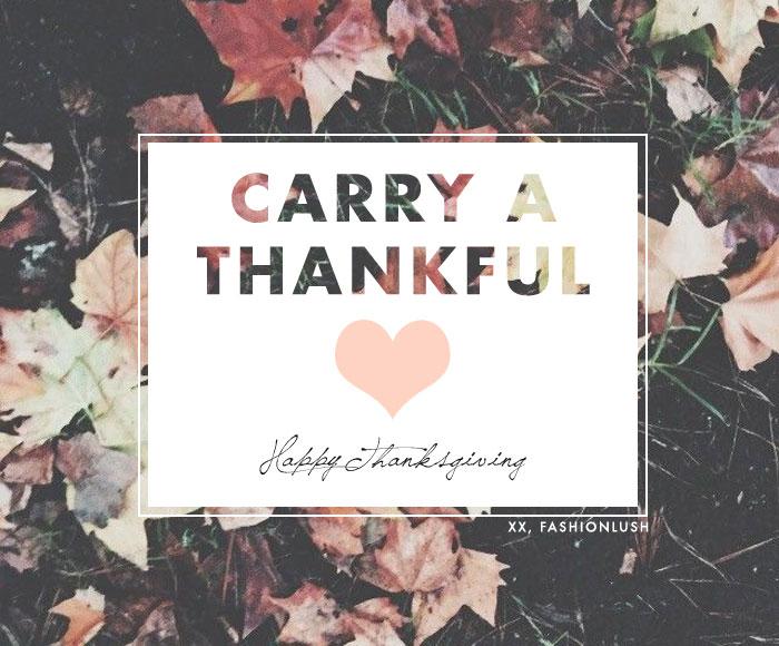 fashionlush, thanksgiving, quote