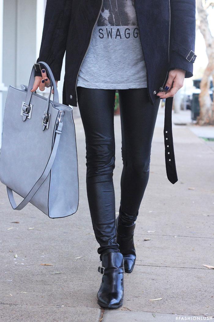 fashionlush, acne shearling coat, winder fashion 2015, circle ray bans, pointed boots