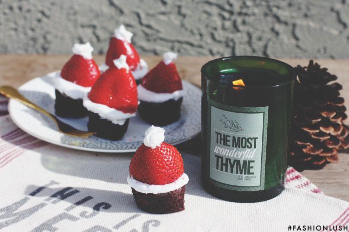 fashionlush, gluten free holiday, santa hats
