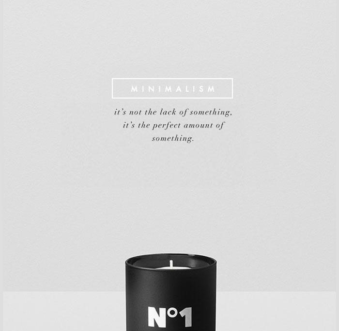 fashionlush, minimalism, quotes