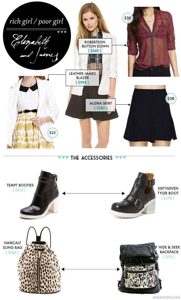 rich girl clothes for cheap