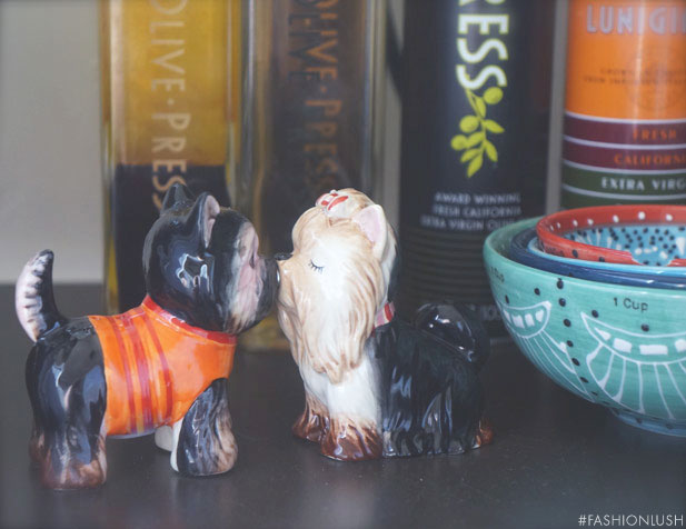 yorkie salt and pepper shaker
