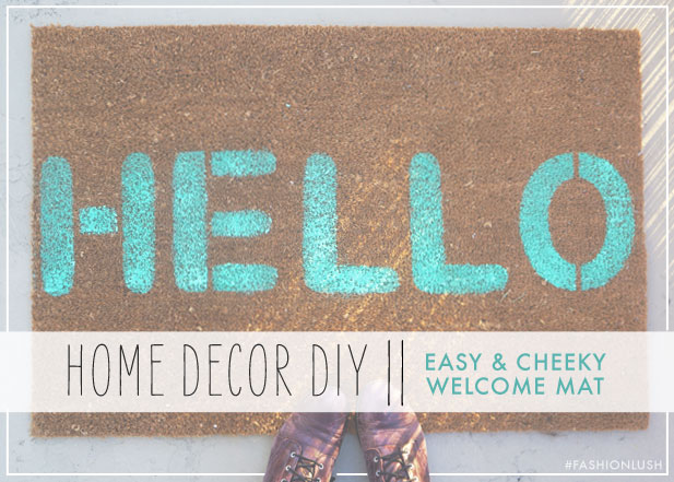 DIY-Welcome-Mat