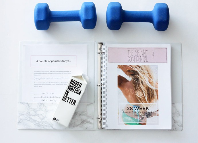fashionlush, the skinny confidential bombshell body guide, summer workout plan