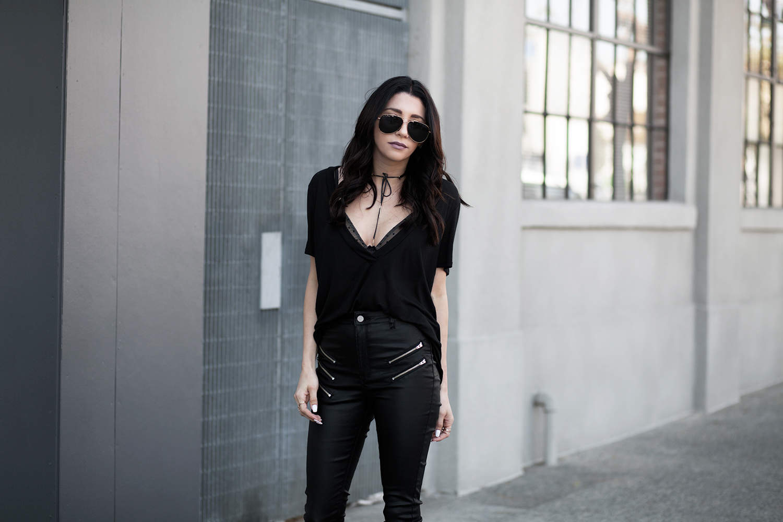 fashionlush, privilege clothing, all black outfits