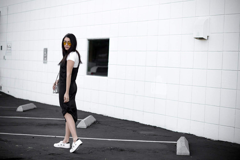 fashionlush, slip dressing, layered slip dress