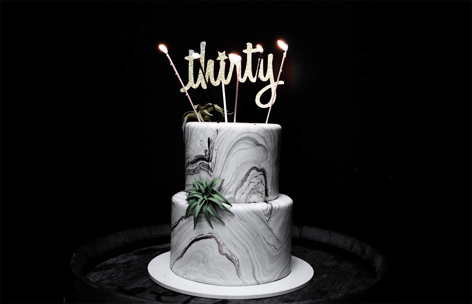 fashionlush, thirtieth birthday, marble cake