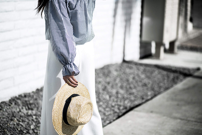 fashionlush, breton stripe, french riviera style
