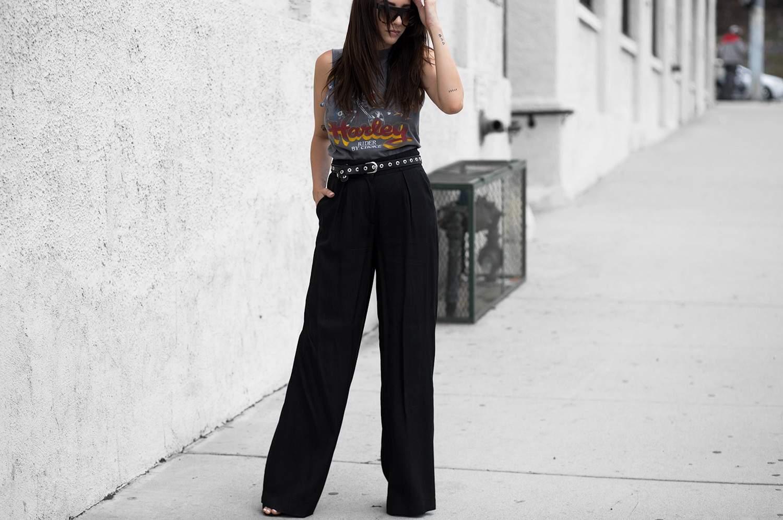 fashionlush, vintage harley davidson tee, T-Shirts & Trousers