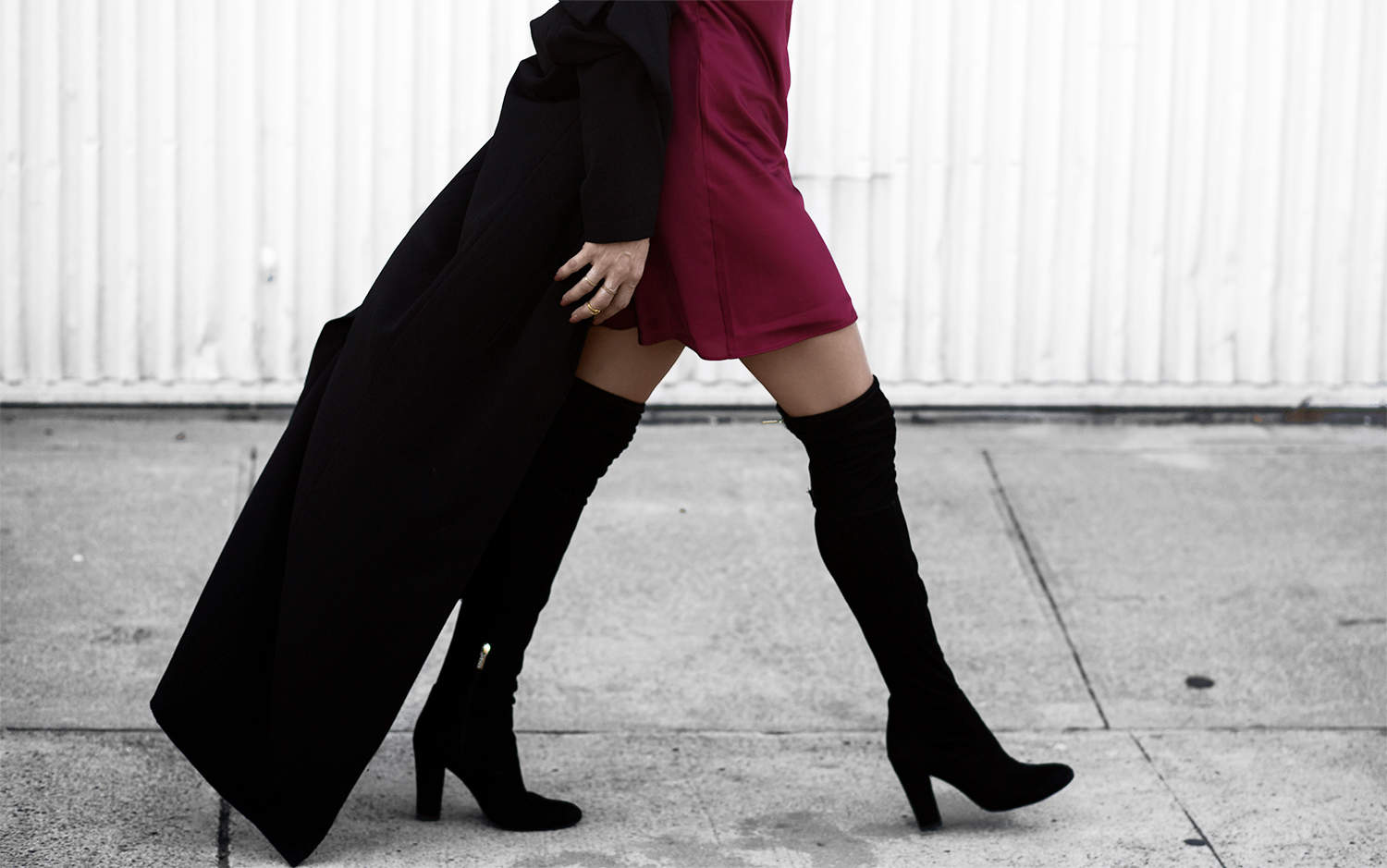 Short Skirt, Long Jacket - Fashionlush