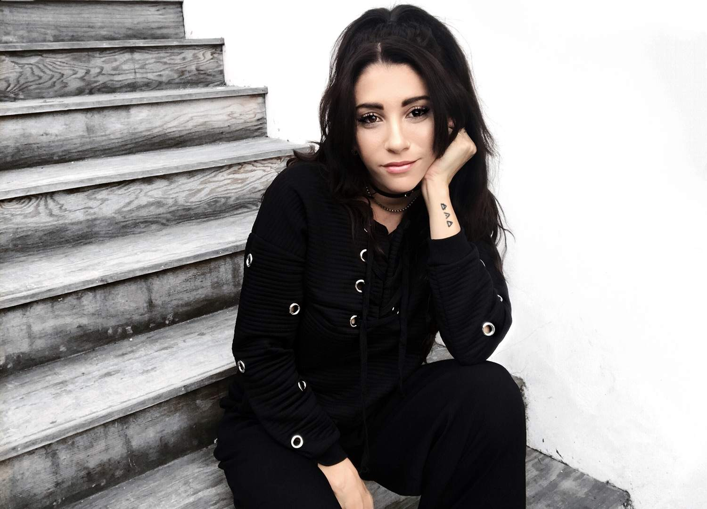 fashionlush, all black outfits, grommet sweatshirt