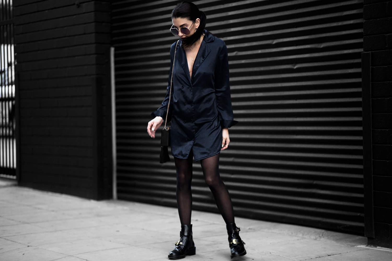 fashionlush, silk street style, fall fashion