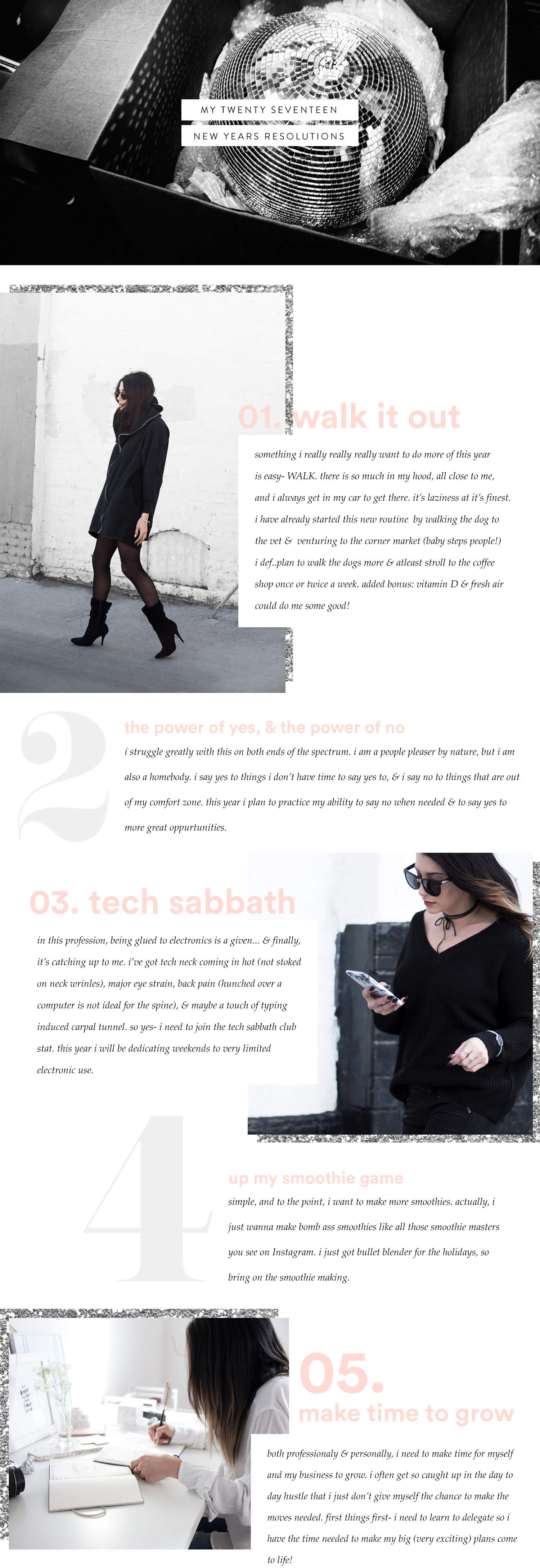 fashionlush, new years resolutions, 2017