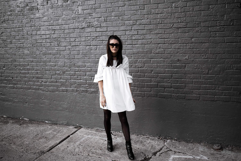 fashionlush ladylike ruffles, minimal street style