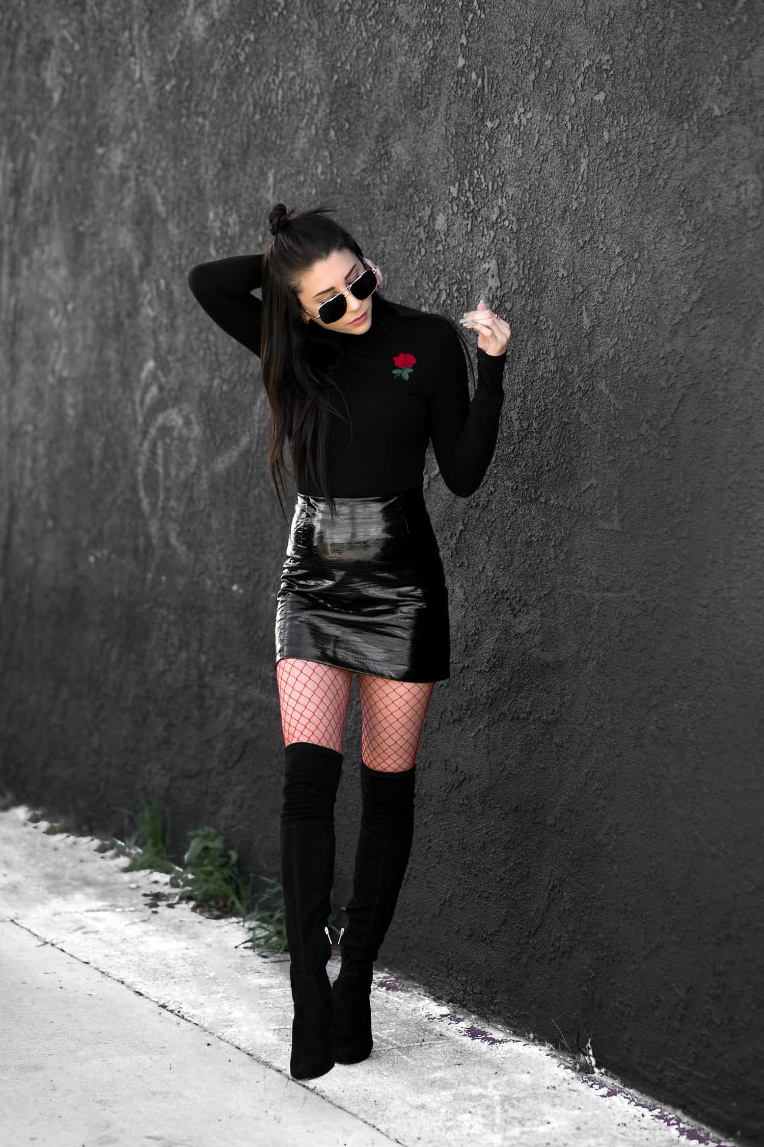 fashionlush, valentine's day fashion, pop of red