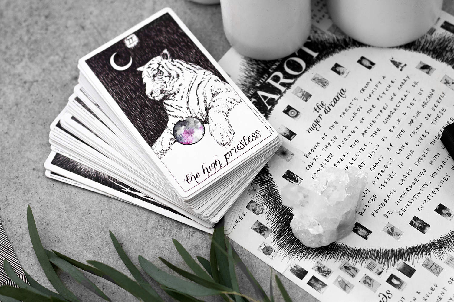 fashionlush, the wild unknown, how to read tarot