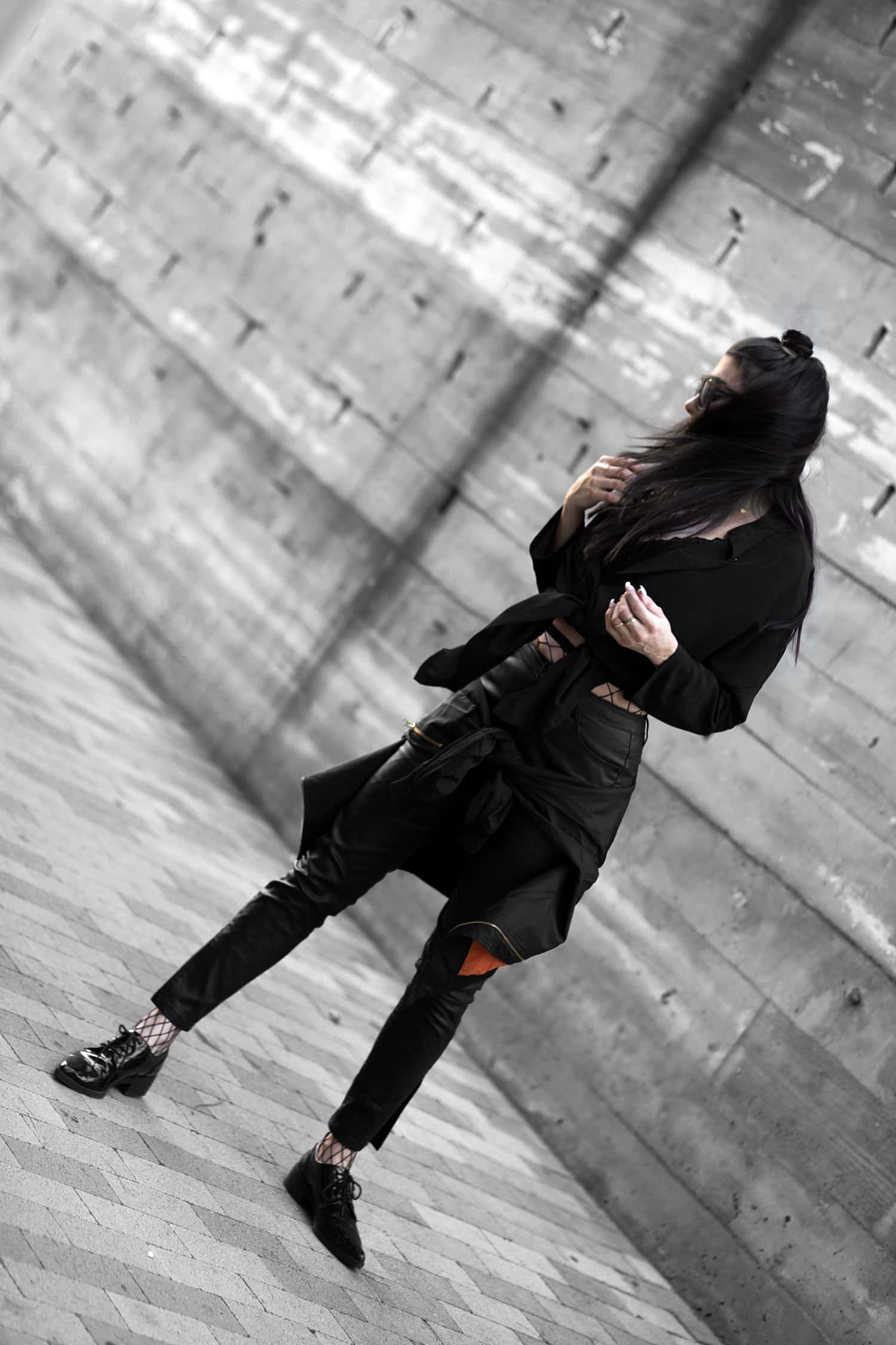 whats your chronotype, fashionlush, all black outfits