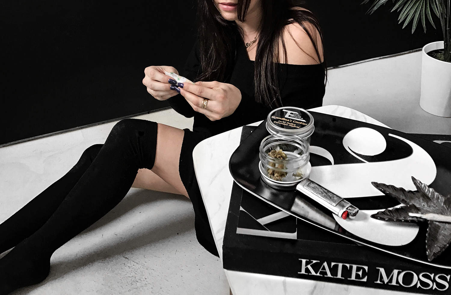 fashionlush, mary jane diaries, women and weed