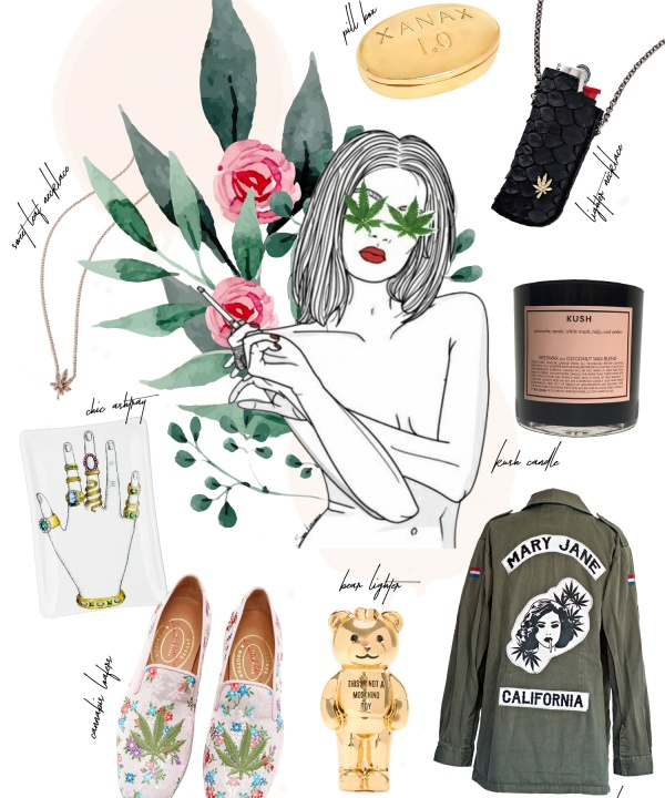 cannabis collage